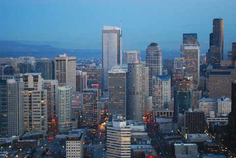 Seattle downtown core commercial real estate