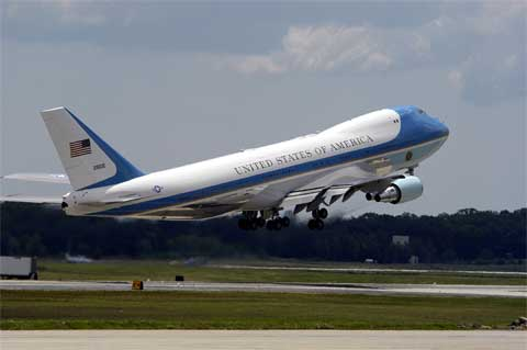Air Force 1, Boeing 747