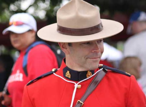 Mounty in full uniform for Seattle Commercial Real Estate post about Lessons from Canada