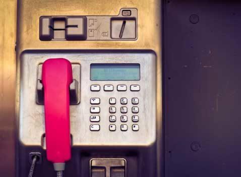 A Fuscia phone