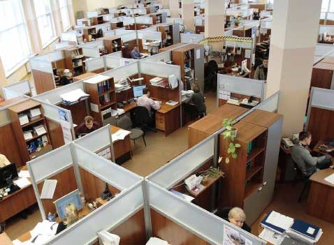 Office jobs in a commercial building, Seattle Commercial Real Estate blog